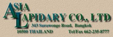 Asia Lapidary Co. Ltd.